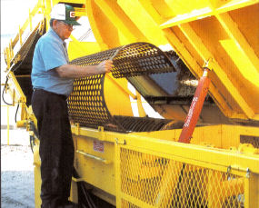 Star Mesh Offers Replacement Conveyor Parts for Trommel Machines